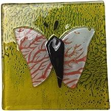 Nuevo turco cristal mosaico mariposa imán para nevera Turquía colorido casa artística (e)