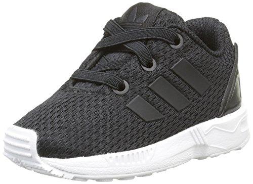 adidas Unisex Baby Zx Flux Lauflernschuhe, Schwarz-Noir (Black/Core Black/Ftwr White), 23 EU