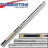 Tubertini Catapult 2 Rute 4,20m 20-40g - Forellenrute für Forellensee & Teich, Angelrute zum Forellenangeln, Sbirolinorute