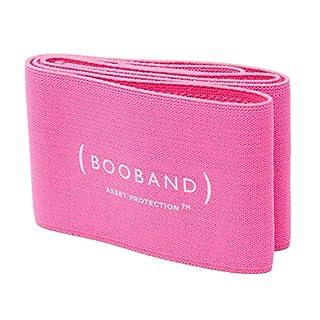 Booband Boobuddy Adjustable Breast Support Band Sports Bra Alternative, Pink