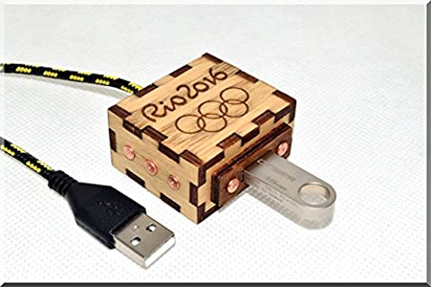 Handarbeit Ryo Olympic Games USB Verlängerung kabel 1M(3FT). Handmade USB