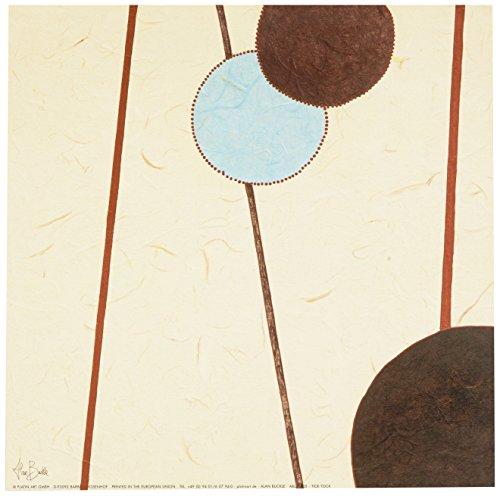Eurographics ABU1005 Alan Buckle, Tick Tock 30 x 30 cm, Hochwertiger Kunstdruck -