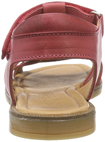 Bisgaard Sandals, Sandales ouvertes fille Rot (19 Raspberry)
