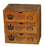 Elgant-Petit-Couronne-Bois-Rangement-Commodes-bureau-Recevez-Container