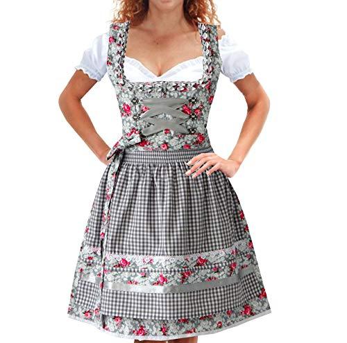 Alte Liebe 3tlg. Dirndl Kleid A322 /34