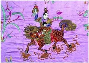 Editions Ricordi 6001N33011 - Puzzle de 2000 Piezas del Cuadro  Arte Chino: Dios Chino con el dragón de Fuego