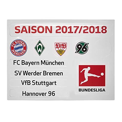 Am Ball Com Magnettabelle Bundesliga Update-Set 2017/2018
