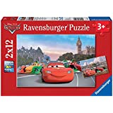 Ravensburger 07554 - Disney Cars: McQueen und Freunde - 2 x 12 Teile Puzzle