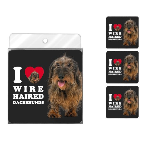 tree-free-greetings-nc39039-i-heart-wire-haired-dachshunds-4-pack-artful-coaster-set