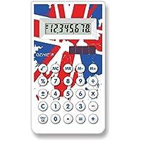 Genie 30CB - Calcolatrice tascabile con disegni tribali, display a 8 cifre, nero - Confronta prezzi