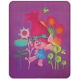 Trolls Poppy Fleece Decke, Polyester, violett, 110 x 140 x 1 cm