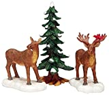 Lemax - Mr And Mrs Moose, Set Of 3