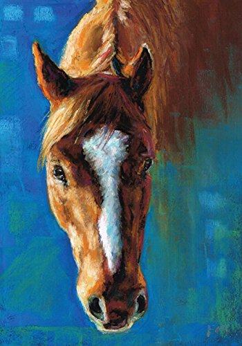mat 68,6x 94cm Dekorative Artistic Farm Animal Gemälde House Flagge ()