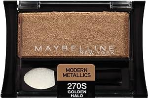 Maybelline New York Expert Wear Eyeshadow Singles, Modern Metallics 270s Golden Halo, 0.09 Ounce
