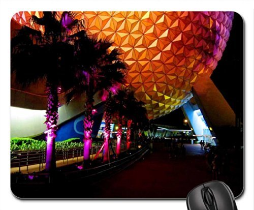 epcot-at-night-mouse-pad-mousepad-modern-mouse-pad