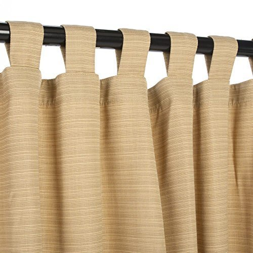 sunbrella-outdoor-curtain-with-tabs-dupione-bamboo-54-in-x-108-in-by-sunbrella