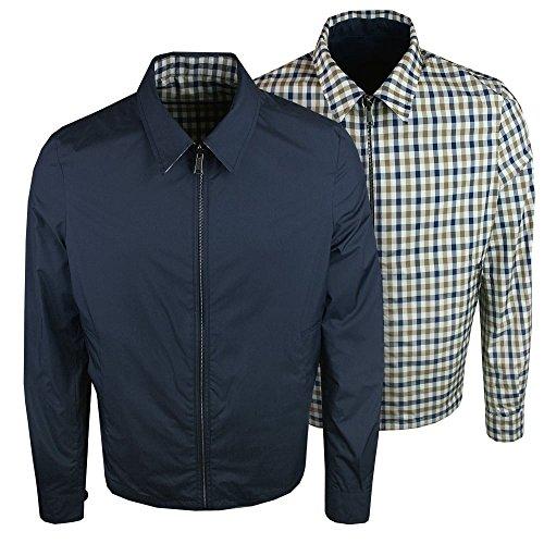 aquascutum-brackenberry-reversible-jacket-navy-check-xl-navy
