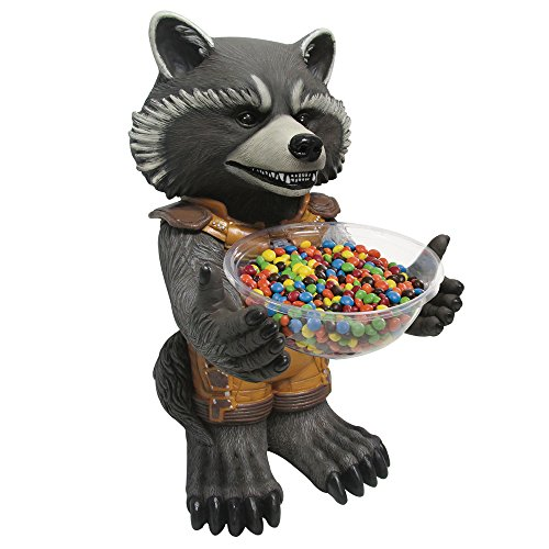 PARTY DISCOUNT Neu Candy Bowl Holder Rocket Raccoon, ca. 50 ()