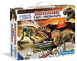 Clementoni Arqueojugando T-Rex Y Triceratops