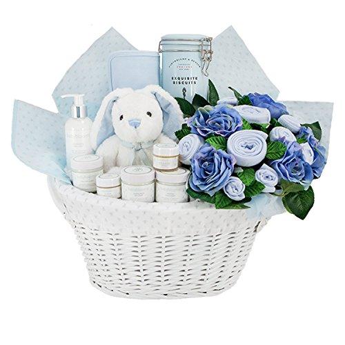 f8faccca45b3b Babyblooms Maman et bébé de luxe Panier cadeau pour bébé