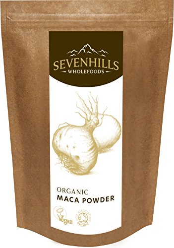 Sevenhills Wholefoods Organic Raw Maca Powder 500g