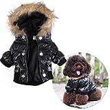 Hundemantel Wintermantel Hundejacke Hundepullover Hundekleidung Hundemode Größe S - 3