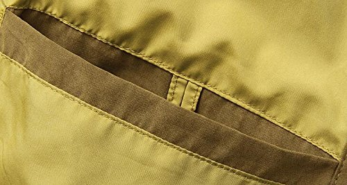 Brinny manteau d'hiver pour hommes veste Parka matelassée outwear Blouson Kaki
