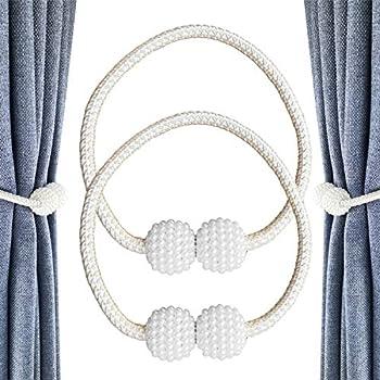 Amazon.de: CUKCIC Magnetische Vorhang Raffhalter Perle