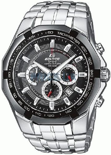 Casio-Edifice--Mens-Analogue-Watch-with-Solid-Stainless-Steel-Bracelet--EF-540D