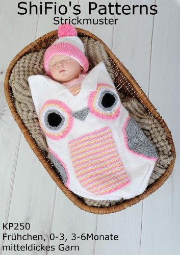 Stricklanleitung Kp250 Schlafsack Pucksack Für Babys Im Design