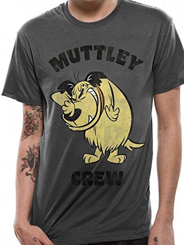 Muttley Snickering T-shirt for Men, grey, medium