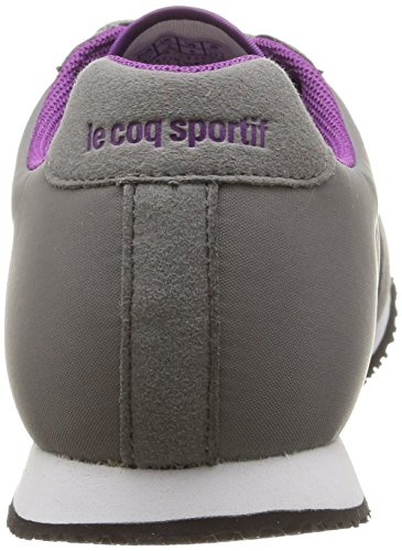 Le Coq Sportif - Racerone Classic, Sneakers da donna Grigio (Grey (Titanium/Sparkling Grape))