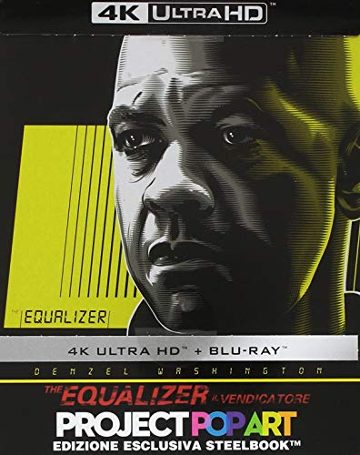 The Equalizer (Steelbook 4K Ultra HD + Blu-Ray)