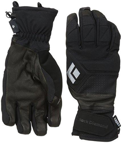 Black Diamond Punisher Handschuhe für eisige Temperaturen / Extrem warmer Winterhandschuh mit Ziegenleder Handfläche und Aufprallschutz / Unisex, Black, Größe: XL