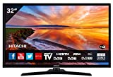 "HITACHI 32HE4000 32"" (80cm) 16/9 Full HD 1080p Smart TV/Netflix/Youtube/WiFi/3 HDMI/FRANSAT/USB/Alexa/Bluetooth TV"