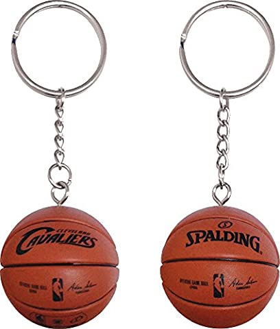 Forever Collectibles Cleveland Cavaliers Basketball Key Tag Schluesselanhaenger NBA