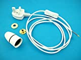 Lamp Base wiring kit 4 for Wooden lamps