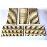 Lego dark tan plate 10 x 6 6 x 12 3028 x 2 plates Baukästen & Konstruktion