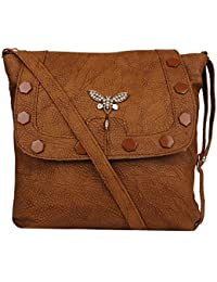 V.K Group | Women New Trendy & Stylish, Beautiful Designed, Fashion Sling Bag, Casual, Bfly P.U Hand Bag
