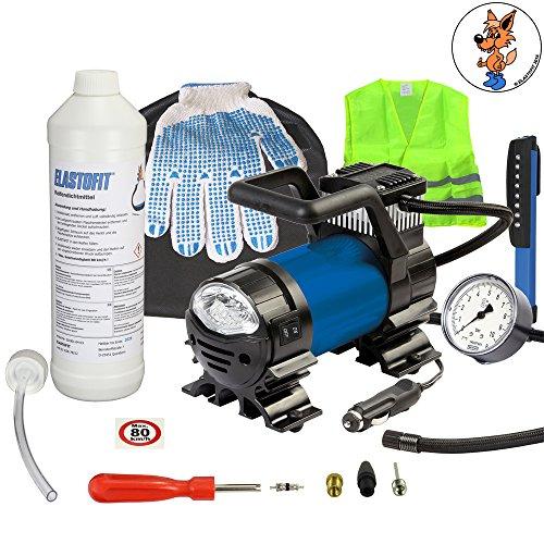 ELASTOFIT Reifenpannenset Pannenset PKW, SUV usw. Reifen-Reparaturset (Xact Plus)