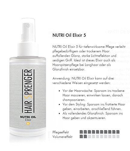 Hair Sprenger NUTRI Oil Elixir 100ml / Haaröl / Arganöl / Jojoba-Öl / Spitzenqualität