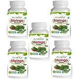 Zindagi Pure Moringa Powder - Natural Minerals, Vitamins & Calcium - Moringa Health Supplement (Buy 4 Get 1 Free)