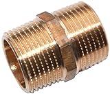 Viega 266608 Doppelnippel Modell 3280 Rotguss blank 1 Zoll