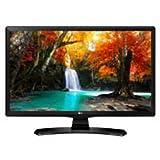 LG 24MT49VF 24' HD Black Monitor TV - Computer Monitor LED Display (61 Centimetri (24'), 250 cd/m², 1366 x 768 pixels, LED, HD, 1366 х 768) immagine