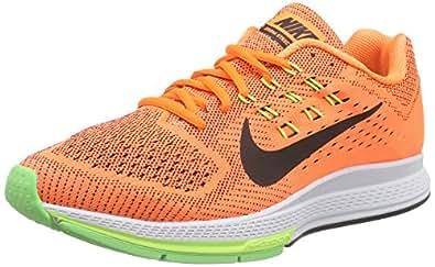 NIKE Air Zoom Structure 18, Chaussures de Course pour Homme Orange Orange (Total Orange/Black/Voltage Green/Ghost Green) 42