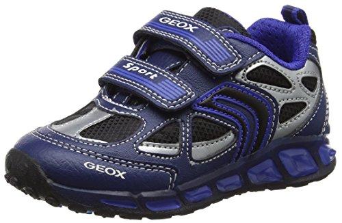 Geox J Shuttle a, Zapatillas para Niños, Azul (Navy/Royal), 28 EU