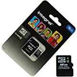 Acce2S - CARTE MEMOIRE 16 GO pour ORANGE DIVE 70 MICRO SD HC + ADAPT SD integral