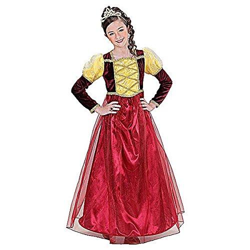 Widmann wid01568–Kostüm für Kinder Prinzessin Mittelalter, mehrfarbig, 158cm/11–13Jahre
