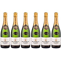 Brut Dargent Vino Espumoso - Pack de 6 Botellas de 0.75 l - Total: 4.5 l