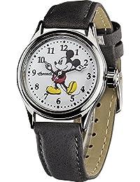 Disney Mickey White/Grey 25570 - Orologio da polso Unisex